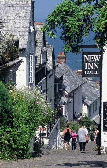 New Inn Hotel North Devon, Reisen nach England