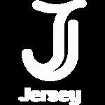 Logo Visit Jersey white